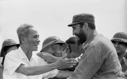 Fidel Castro: un amigo entranable de Vietnam hinh anh 9