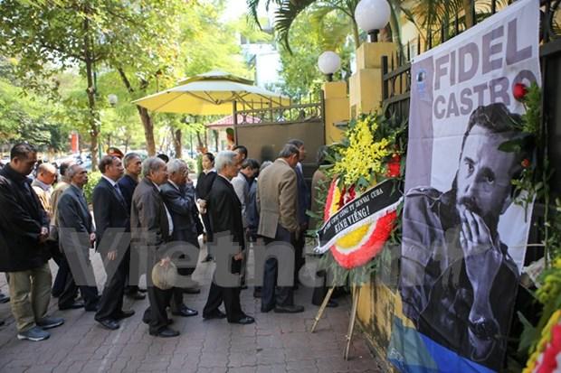 Vietnam despide a Fidel con un ¡Hasta siempre, amigo! hinh anh 3