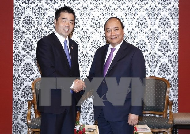 Vietnam desea mayores inversiones de Japon, afirma premier Nguyen Xuan Phuc hinh anh 1