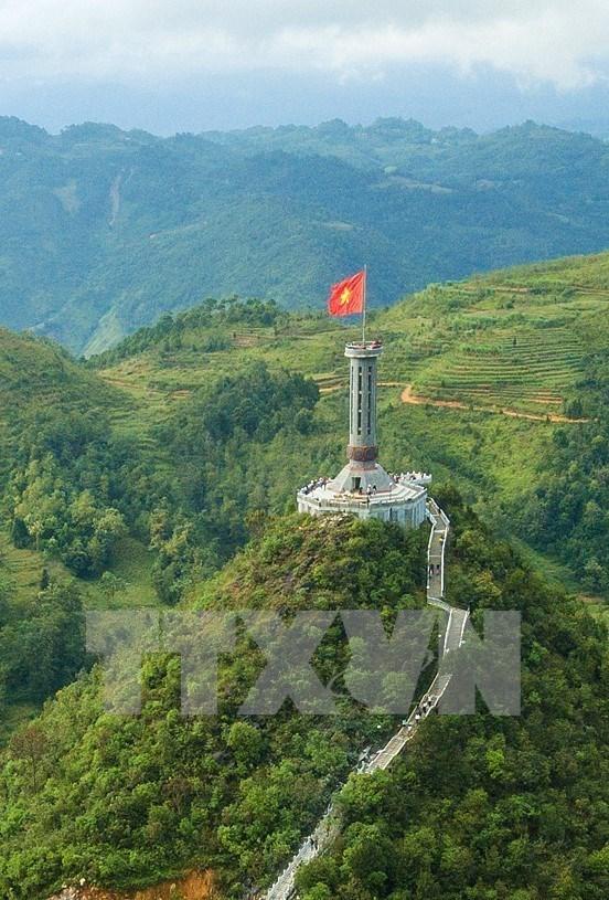 Paisajes majestuosos de zona montanosa de Ha Giang hinh anh 4
