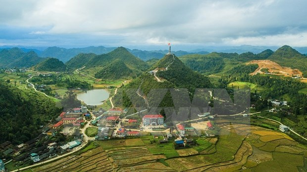 Paisajes majestuosos de zona montanosa de Ha Giang hinh anh 5