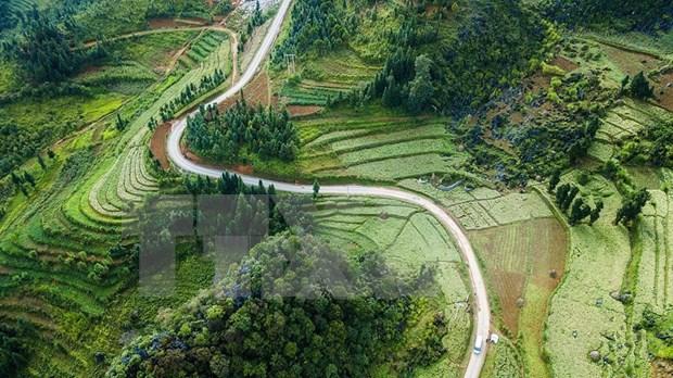 Paisajes majestuosos de zona montanosa de Ha Giang hinh anh 6