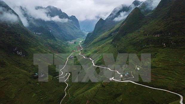Paisajes majestuosos de zona montanosa de Ha Giang hinh anh 7