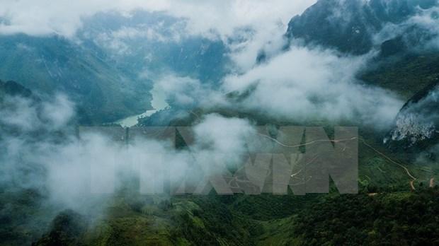 Paisajes majestuosos de zona montanosa de Ha Giang hinh anh 8