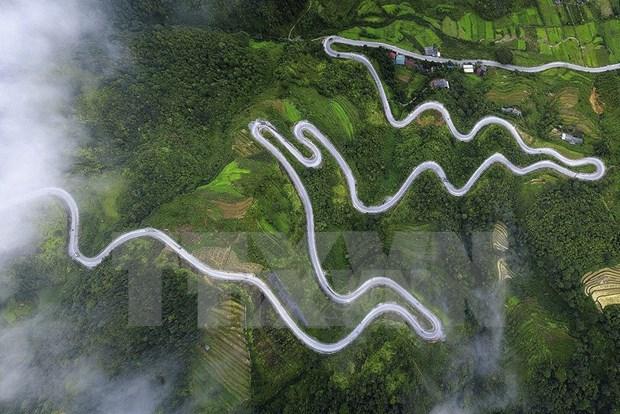 Paisajes majestuosos de zona montanosa de Ha Giang hinh anh 10