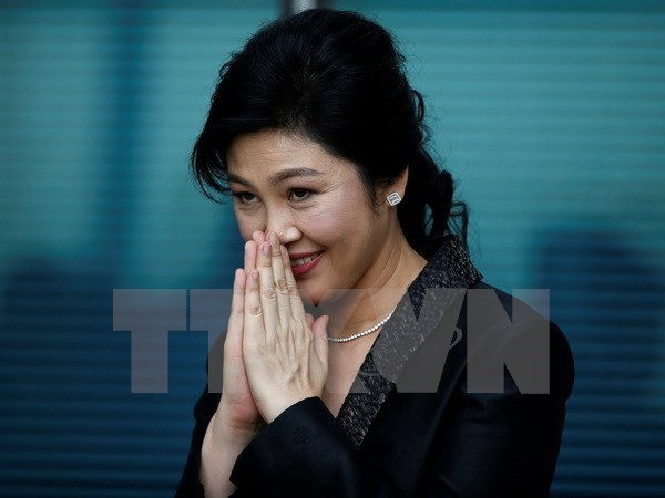 Exprimera ministra tailandesa pudiera haber pedido asilo en Reino Unido hinh anh 1