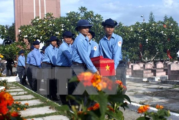 Emprenden en provincia norvietnamita proceso de recuperacion de restos de martires hinh anh 1