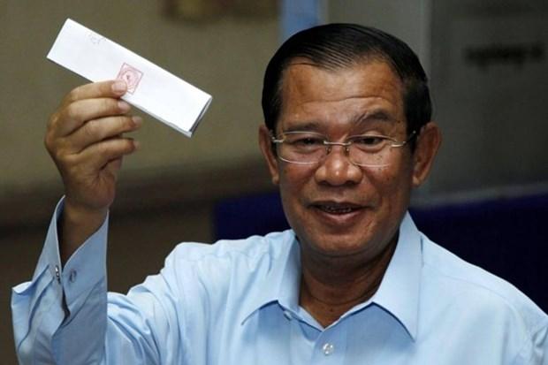 Camboya: PPC gana todos los escanos en las elecciones al Senado hinh anh 1