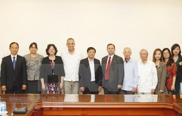 ICAP y la VNA reafirman voluntad de fortalecer lazos Vietnam- Cuba hinh anh 1