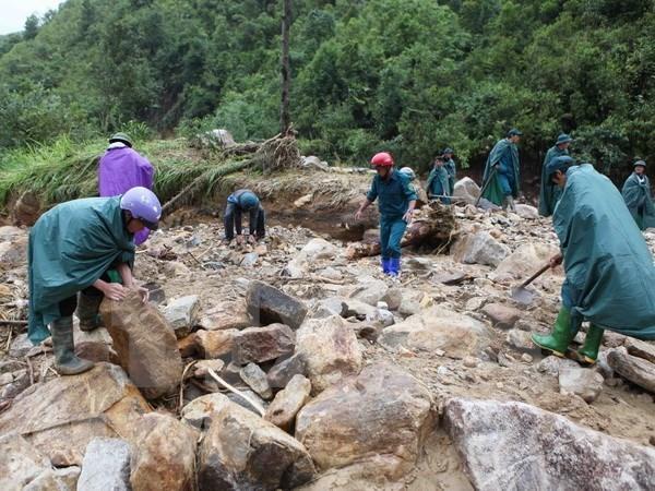 China expresa simpatia a Vietnam por secuelas de inundaciones hinh anh 1