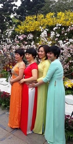 Ao dai: vietnamitas siguen la moda pero mantienen las raices hinh anh 3