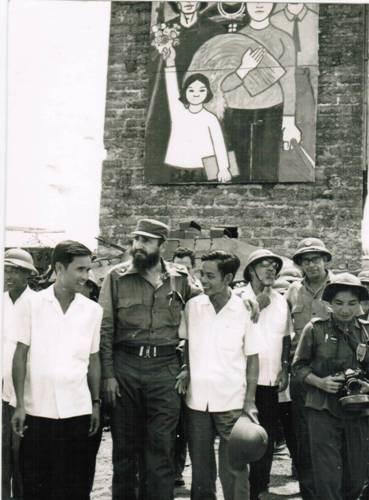 A 45 anos de la historica visita de Fidel a Vietnam hinh anh 1