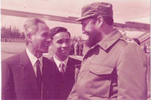A 45 anos de la historica visita de Fidel a Vietnam hinh anh 9