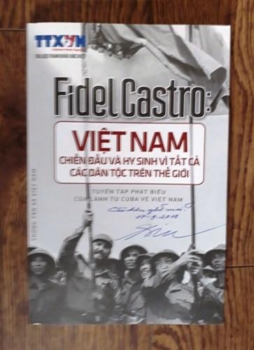 A 45 anos de la historica visita de Fidel a Vietnam hinh anh 4