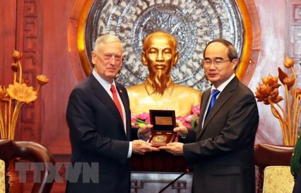 Estados Unidos es uno de los importantes socios de Vietnam, afirma alto funcionario hinh anh 1
