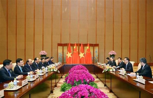 Vietnam atesora asociacion de cooperacion estrategica integral con China hinh anh 1