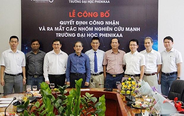 Crecen en universidades de Vietnam potentes equipos de investigacion hinh anh 3