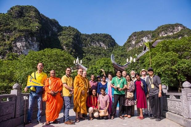 Elogian delegados internacionales al Dia de Vesak de la ONU las bellezas naturales de Vietnam hinh anh 1