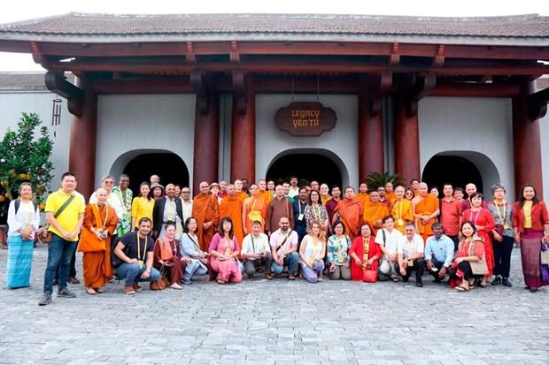 Elogian delegados internacionales al Dia de Vesak de la ONU las bellezas naturales de Vietnam hinh anh 5