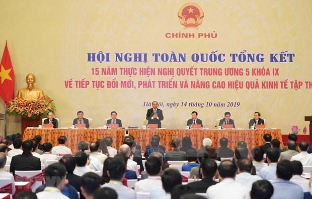 Desarrollo de economia colectiva debe seguir principios del mercado hinh anh 1