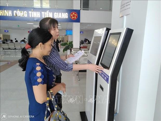 Aceleran reformas administrativas en provincia vietnamita de Tien Giang hinh anh 1
