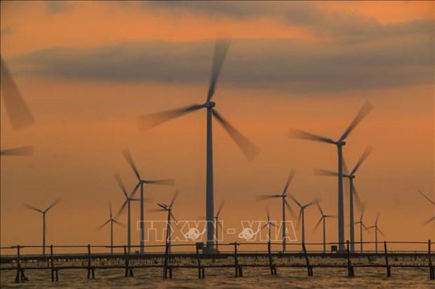 En alza produccion de energia renovable de Vietnam entre enero y abril hinh anh 1