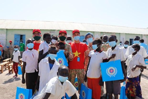 Oficiales vietnamitas en Sudan del Sur y aspiracion a la paz mundial hinh anh 4