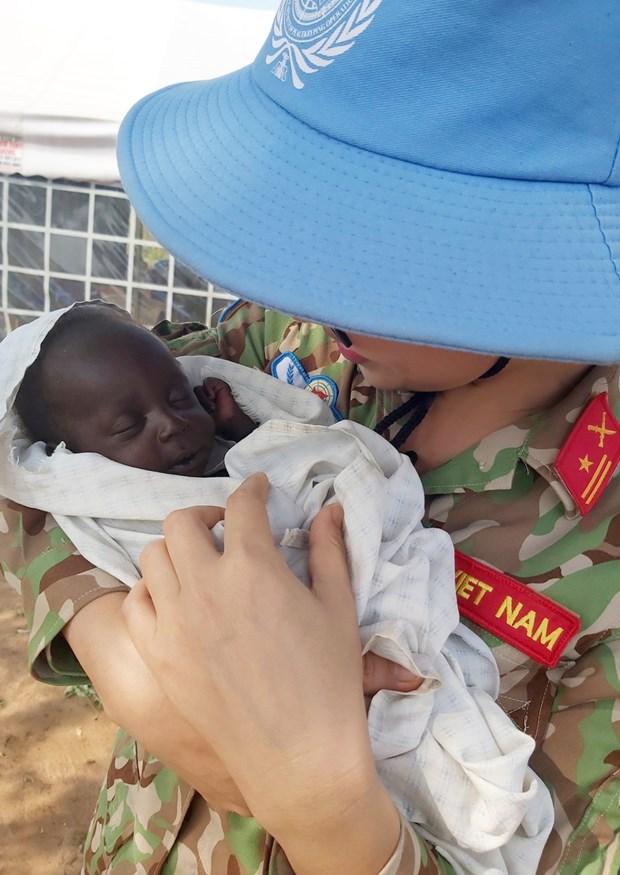 Oficiales vietnamitas en Sudan del Sur y aspiracion a la paz mundial hinh anh 5