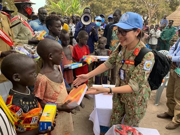 Oficiales vietnamitas en Sudan del Sur y aspiracion a la paz mundial hinh anh 6