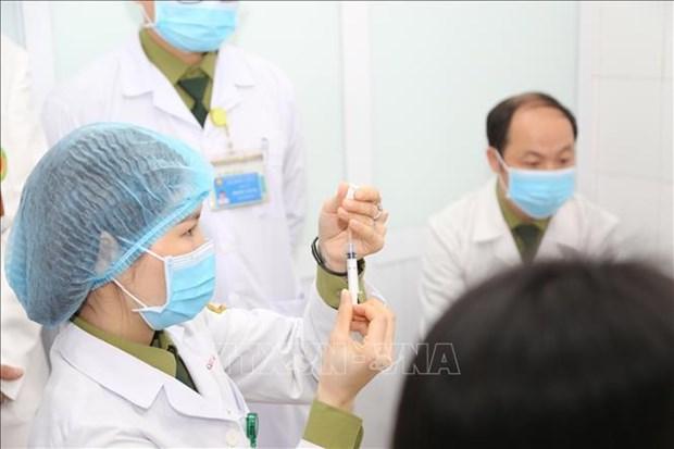 Senales optimistas sobre la vacuna vietnamita NanoCovax hinh anh 1