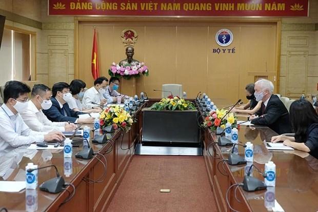 Vietnam se esfuerza por asegurar suministro de vacunas contra el COVID-19 hinh anh 2