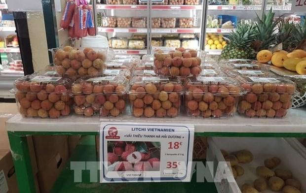 Vietnam busca promover sus productos agricolas en Europa mediante el comercio electronico hinh anh 1