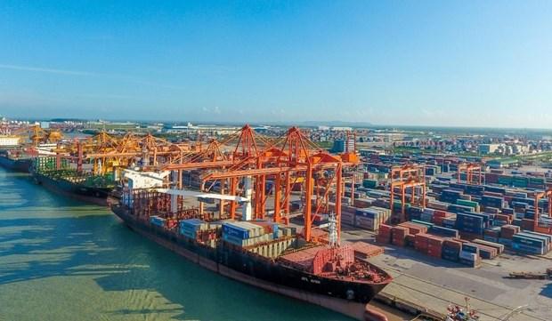 Crece volumen de carga a traves de puertos maritimos de Vietnam hinh anh 1