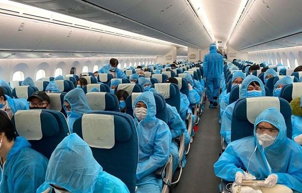 Proponen tres fases de reapertura de vuelos internacionales a Vietnam hinh anh 1