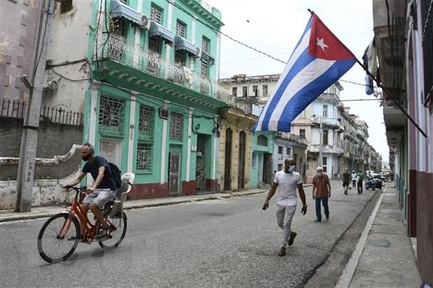 Cuba abandera espiritu resiliente en lucha contra el COVID-19 hinh anh 1
