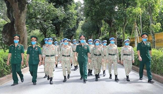 """""""Postura combativa y unidad basada en las masas"""" reune las fuerzas del pueblo vietnamita hinh anh 4"""
