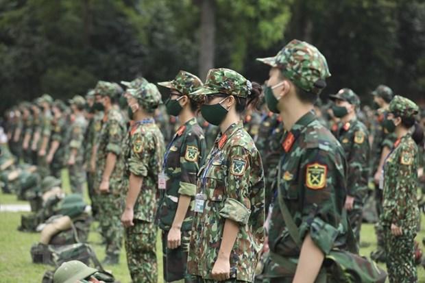 """""""Postura combativa y unidad basada en las masas"""" reune las fuerzas del pueblo vietnamita hinh anh 2"""