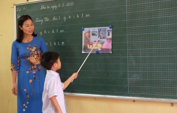 Vietnam implementa con exito la tarea dual en el curso escolar 2020-2021 hinh anh 1