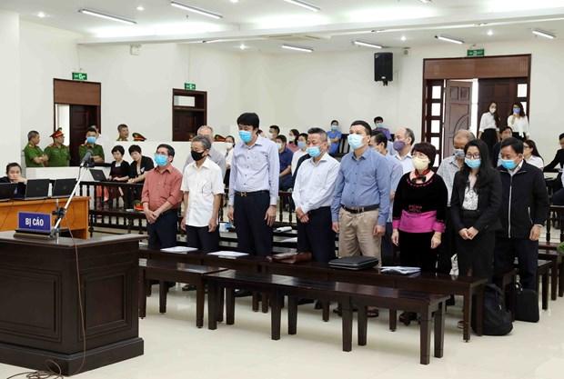 Inician juicio de primera instancia de caso de violacion en empresa de acero de Vietnam hinh anh 1