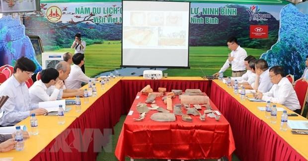 Presentan nuevos descubrimientos arqueologicos de antigua capital vietnamita hinh anh 2