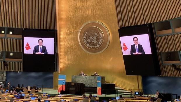 Vietnam comparte en ONU experiencias en lucha contra VIH/SIDA hinh anh 1