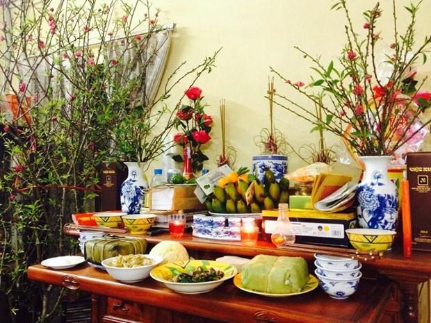 Altar de los ancestros, convergencia de valores culturales de Vietnam hinh anh 1