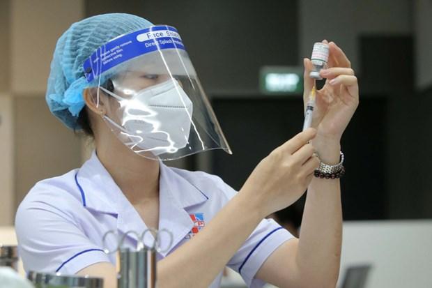Amplia Vietnam mayor campana de vacunacion para frenar COVID-19 hinh anh 2