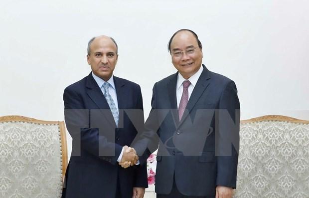 Premier vietnamita formula votos por incrementar nexos multisectoriales con Arabia Saudita hinh anh 1
