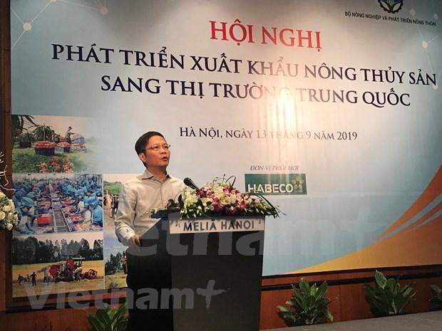 Ministros de Vietnam intensifican coordinacion para impulsar exportacion agricola a China  hinh anh 1
