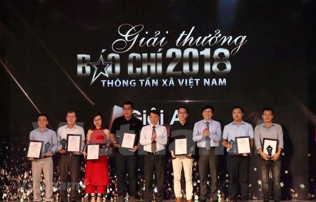 Premios Periodisticos de la VNA: ocasion para honrar a reporteros destacados  hinh anh 1