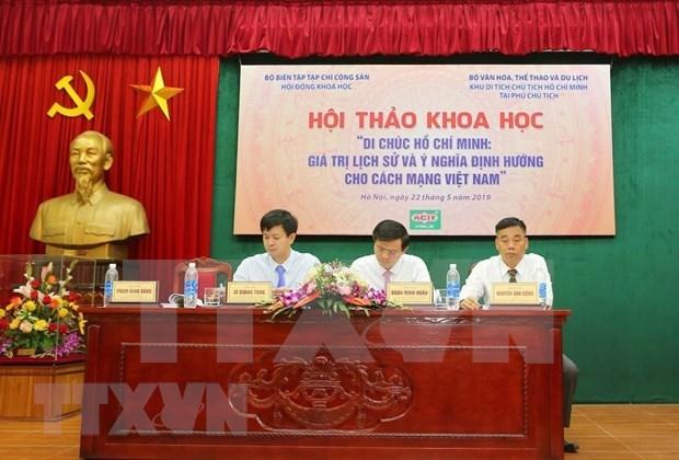 Testamento del Presidente Ho Chi Minh: antorcha de camino revolucionario de Vietnam  hinh anh 4