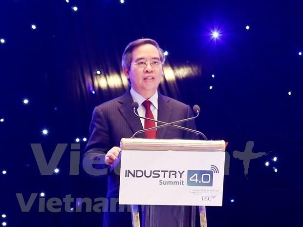 Recomiendan aprovechar ventajas de industria 4.0 para convertir Vietnam en un pais desarrollado  hinh anh 2