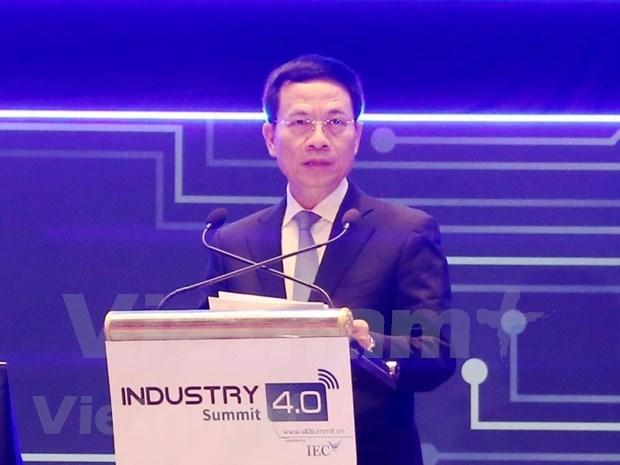 Recomiendan aprovechar ventajas de industria 4.0 para convertir Vietnam en un pais desarrollado  hinh anh 3