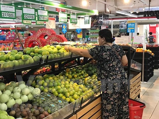 Productos agricolas seguros de Vietnam enfrentan dificultades para ingresar en los supermercados hinh anh 1